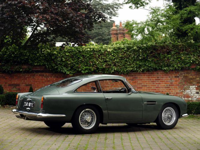 1959 Aston Martin DB4 GT retro g wallpaper