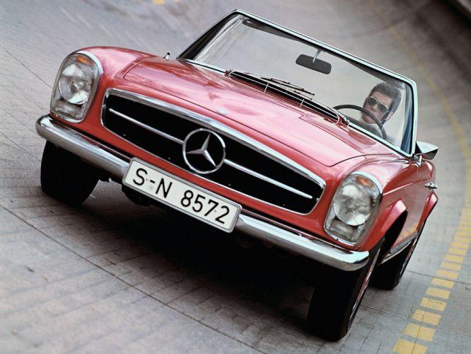 1965 Mercedes Benz 230 SL (W113) luxury classic s-l k wallpaper