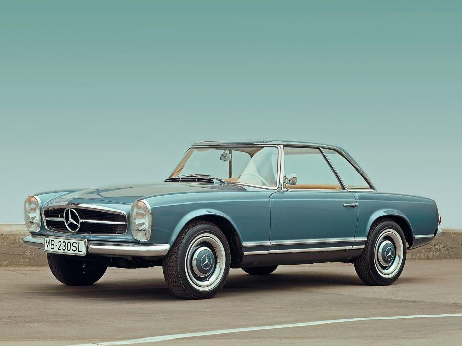 1965 Mercedes Benz 230 SL (W113) luxury classic s-l    h wallpaper