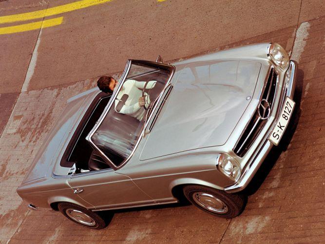 1965 Mercedes Benz 230 SL (W113) luxury classic s-l hd wallpaper