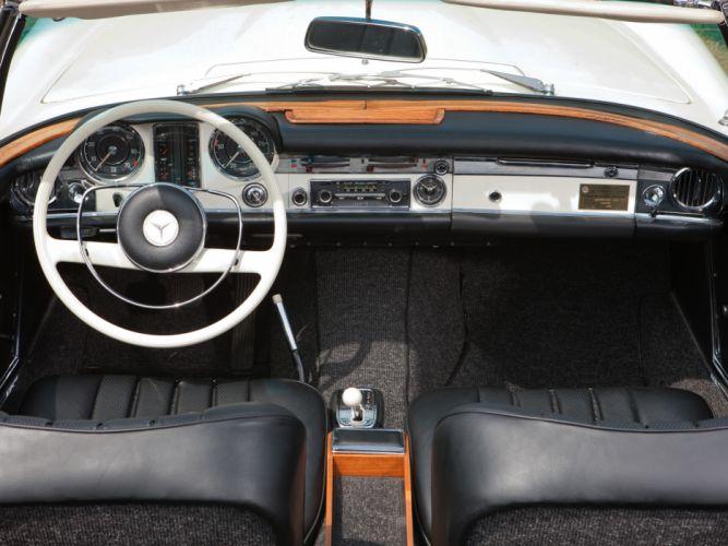 1965 Mercedes Benz 230 SL (W113) luxury classic s-l interior g wallpaper