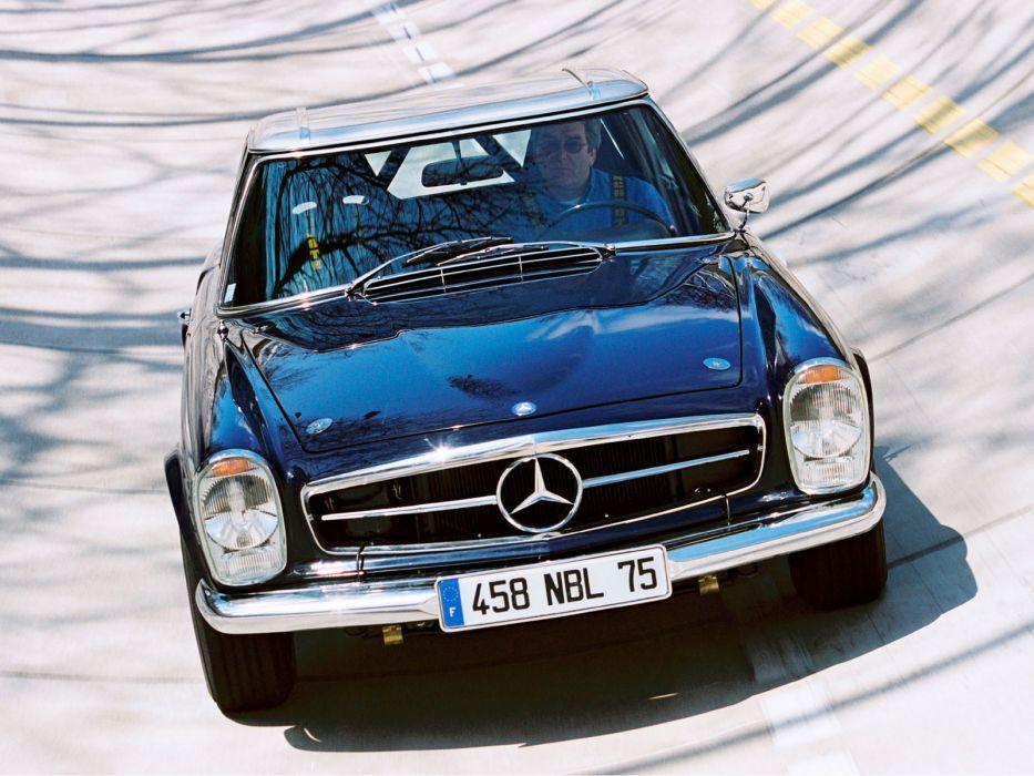 1965 Mercedes Benz 230 SL (W113) luxury classic s-l  m wallpaper