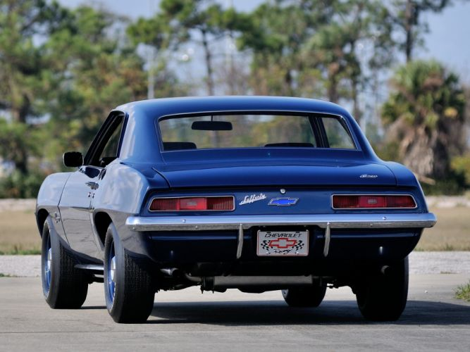 1969 Chevrolet Camaro ZL-1 muscle classic f wallpaper