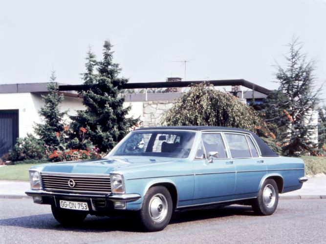 1969 Opel Diplomat (B) classic r wallpaper