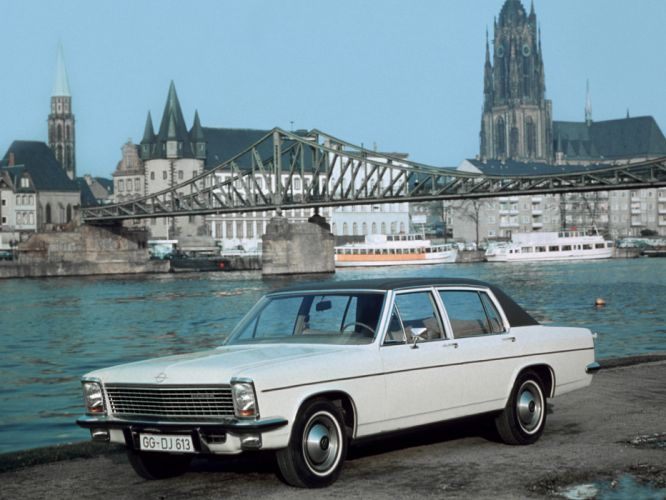 1969 Opel Diplomat V8 (B) luxury classic v-8 j wallpaper