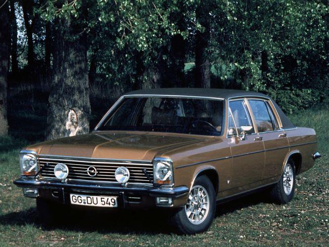 1969 Opel Diplomat V8 (B) luxury classic v-8 hd wallpaper