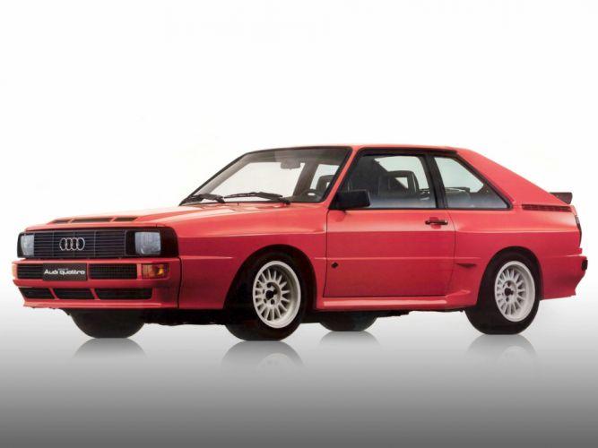 Wallpaper Mobil Audi Sport: 1984 Audi Sport Quattro Fs Wallpaper