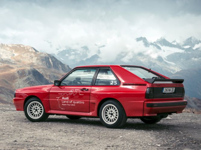1984 Audi Sport quattro tuning race racing wallpaper