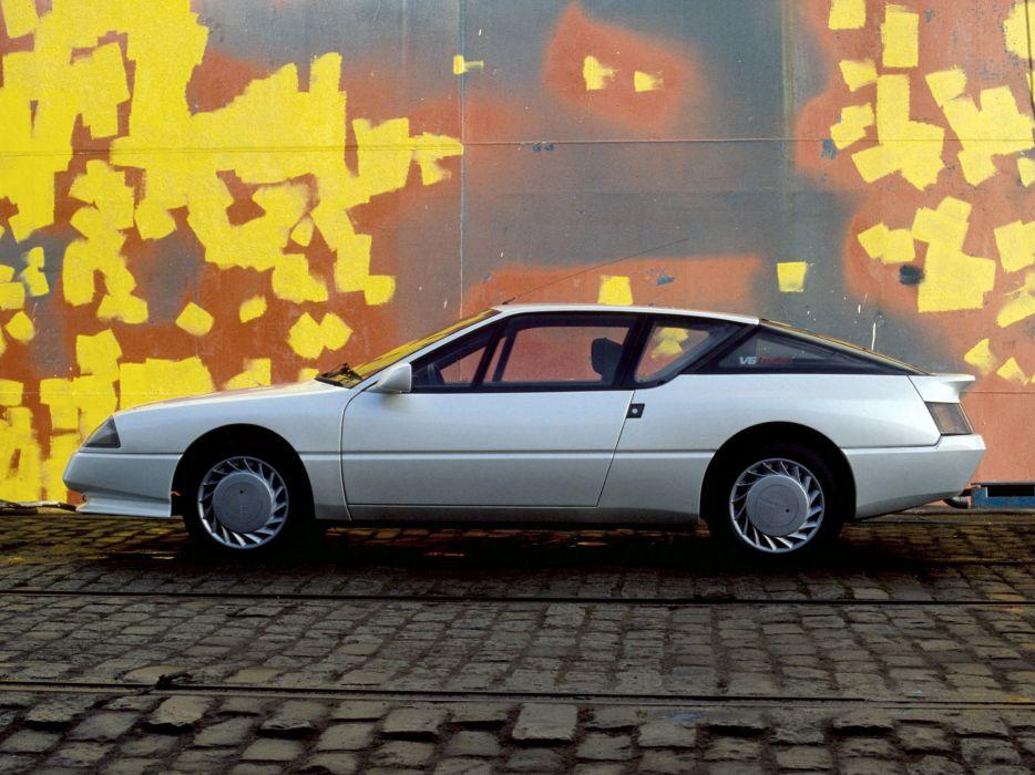 1986 Renault Alpine GTA V6 Turbo v-6   f wallpaper