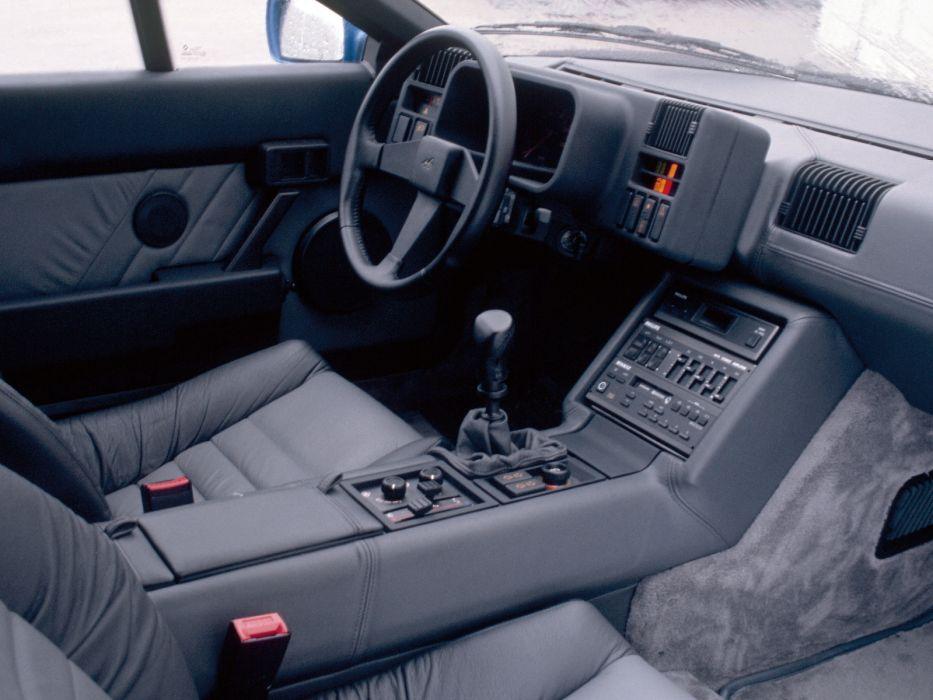 1986 Renault Alpine GTA V6 Turbo v-6 interior      f wallpaper