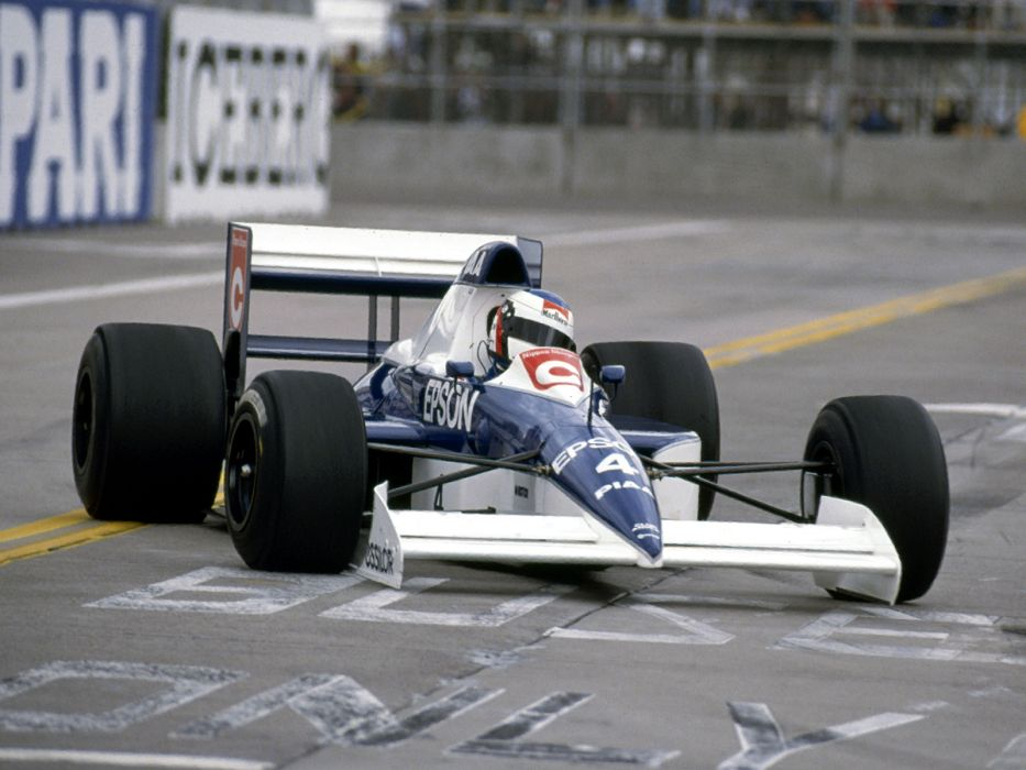 1990 Tyrrell 019 formula one f-1 race racing wallpaper