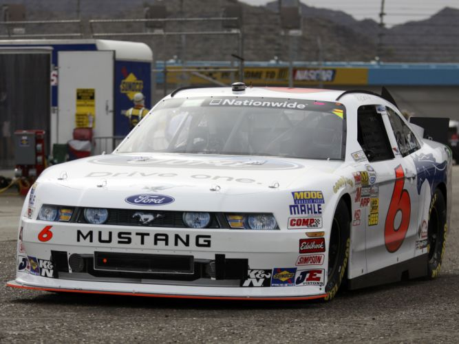 2010 Ford Mustang NASCAR Nationwide race racing f wallpaper