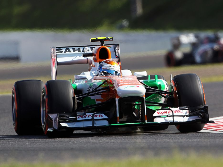 2013 Force India VJM06 formula one race racing    h wallpaper