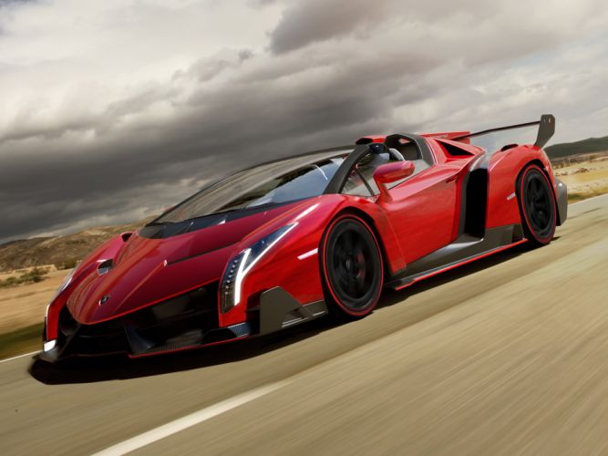 2014 Lamborghini Veneno Roadster supercar wallpaper