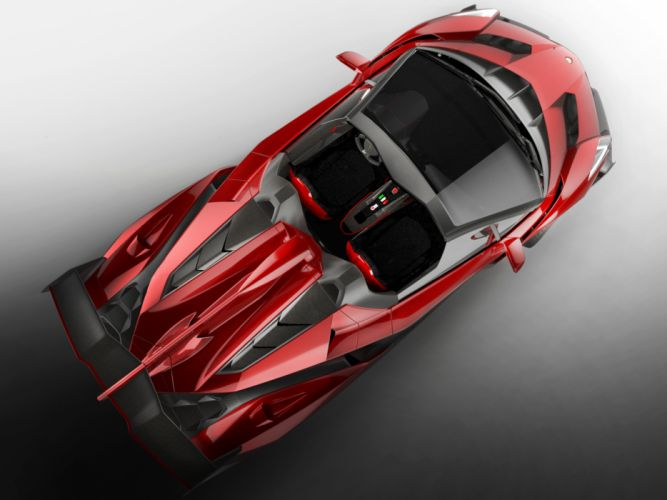 2014 Lamborghini Veneno Roadster supercar interior f wallpaper