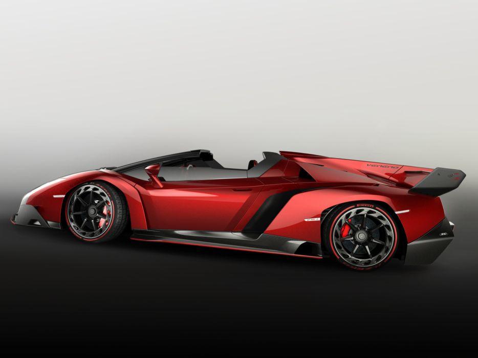 2014 Lamborghini Veneno Roadster supercar wheel   rw wallpaper