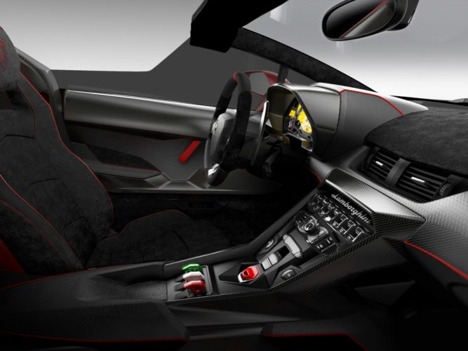 2014 Lamborghini Veneno Roadster supercar interior g wallpaper