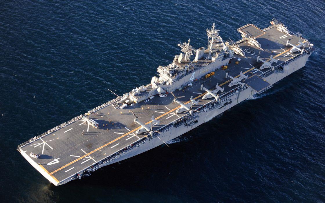 amphibious assault ship ship uss boxer navy military wallpaper