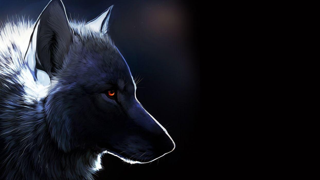 animals wolf art wallpaper
