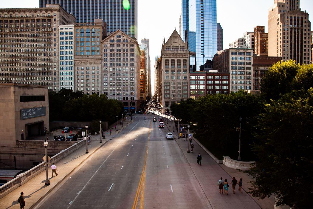 buildings chicago wallpaper