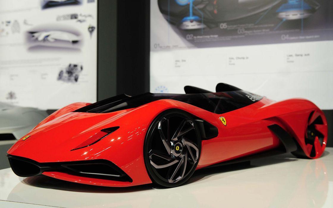 Eternita model Ferrari supercar wallpaper
