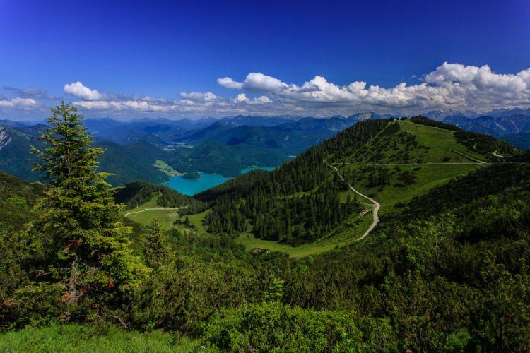 germany Bavarian Alps wallpaper