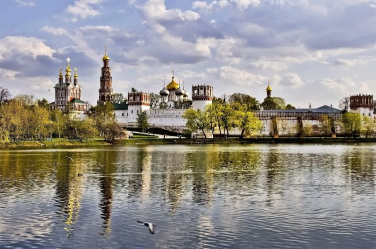 Moscow Novodevichy Convent wallpaper