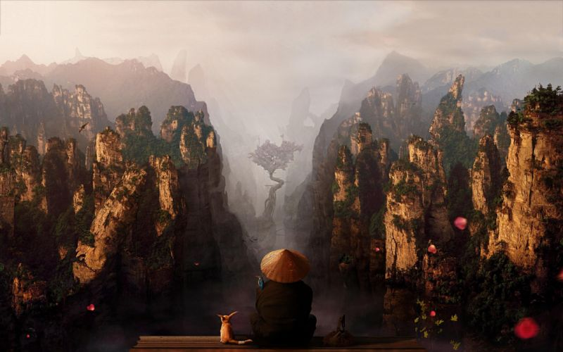 asian china landscape mountain wallpaper
