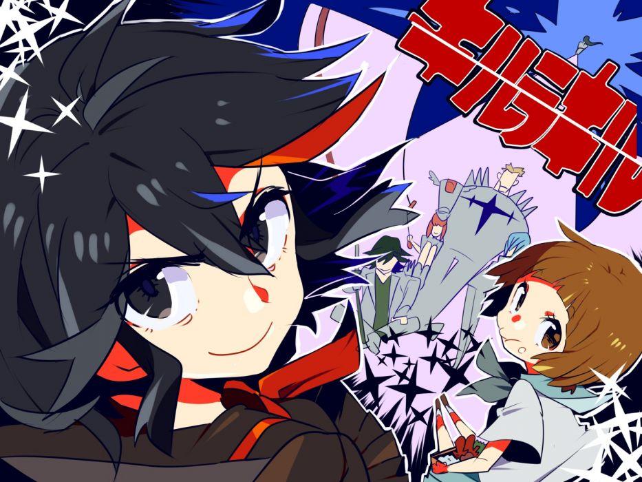 kill la kill gamagouri ira inumuta houka jakuzure nonon kiryuin satsuki mankanshoku mako matoi ryuuko miyukiyo sanageyama uzu wallpaper
