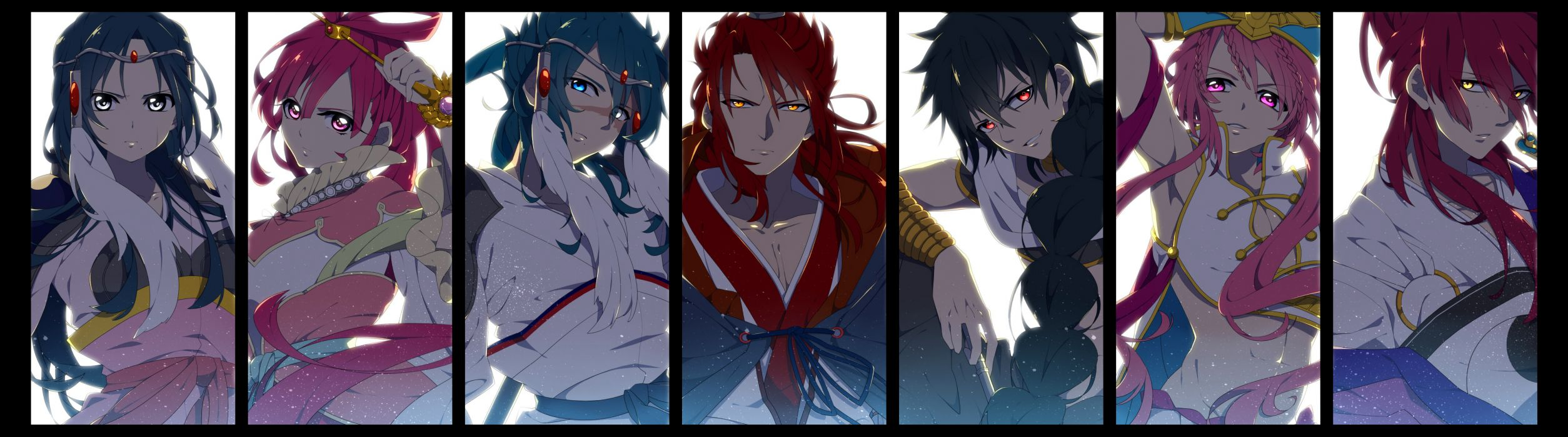MAGI The Labyrinth of Magic  d wallpaper