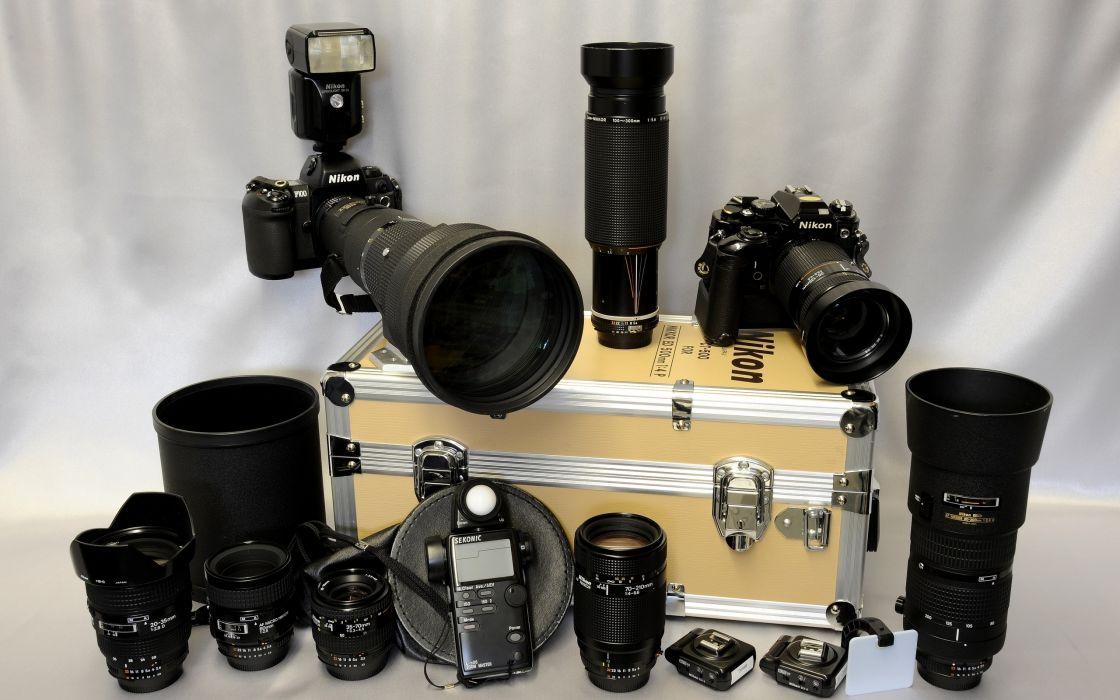 nikon lenses camera wallpaper