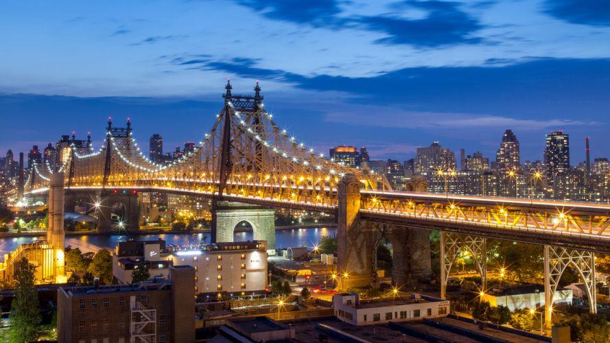 Queensboro Bridge New York City Manhattan NYC wallpaper