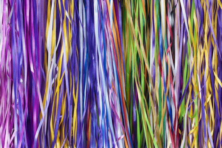 ribbons colorful wallpaper