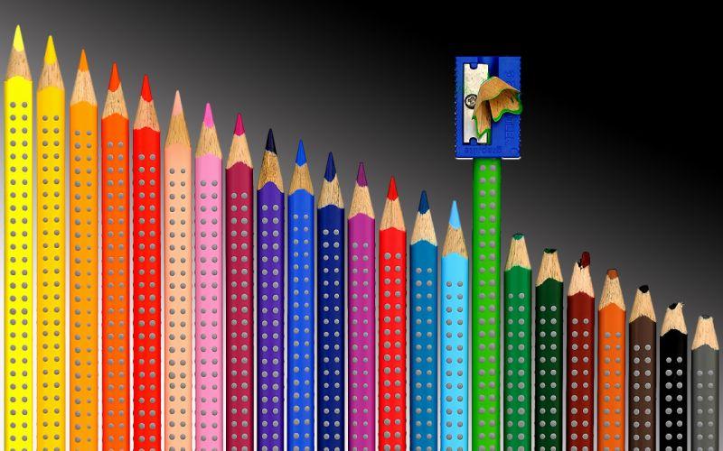 sharpener pencil color wallpaper