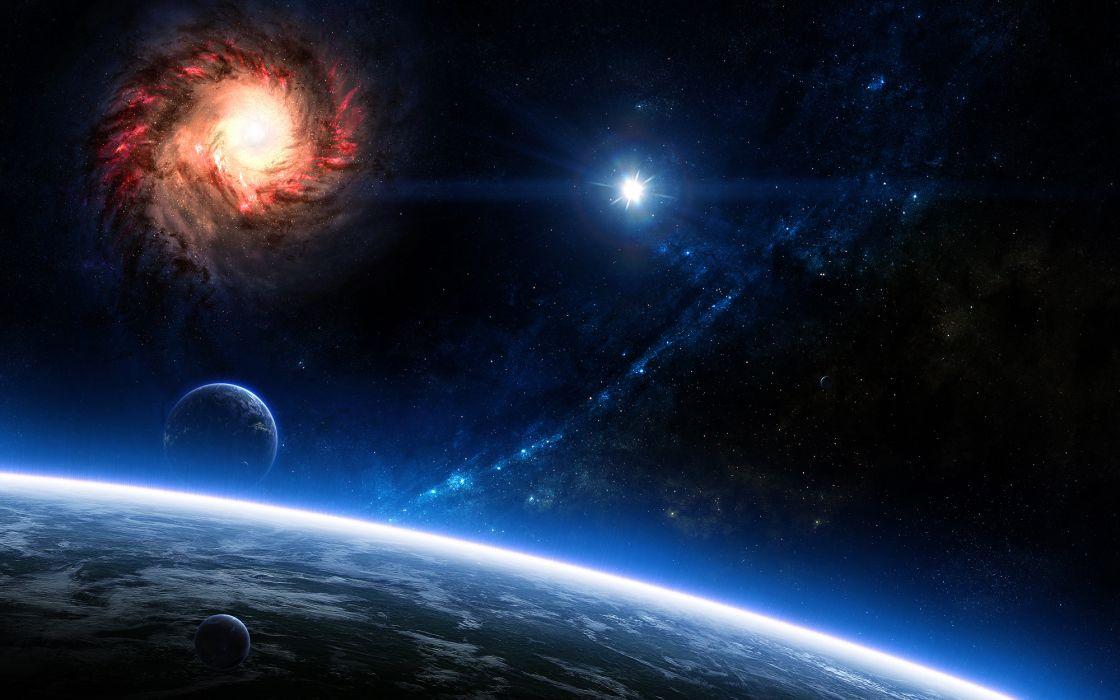 space 3d art stars planet       g wallpaper
