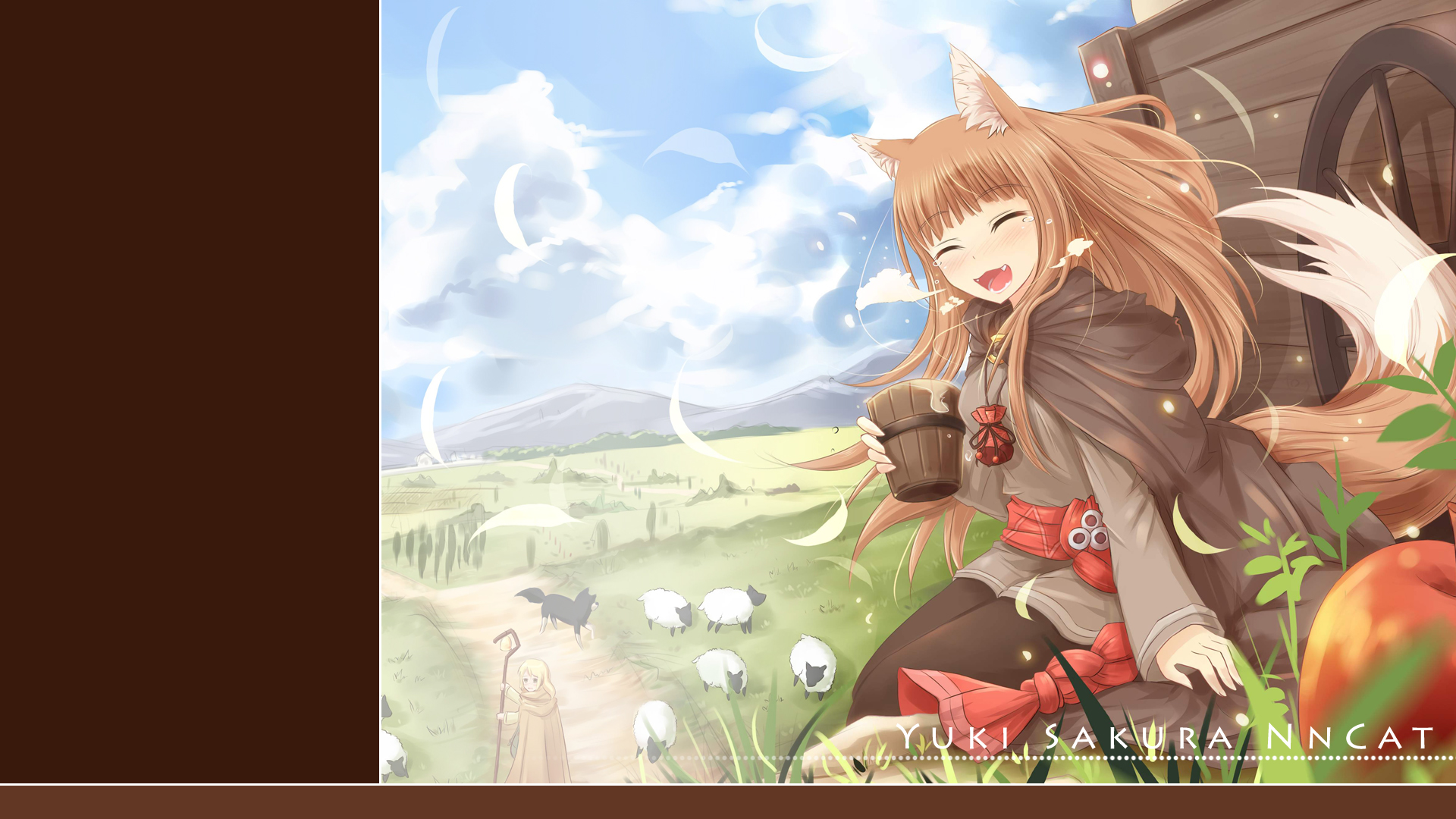 spice and wolf wallpaper 1920x1080 163422 wallpaperup