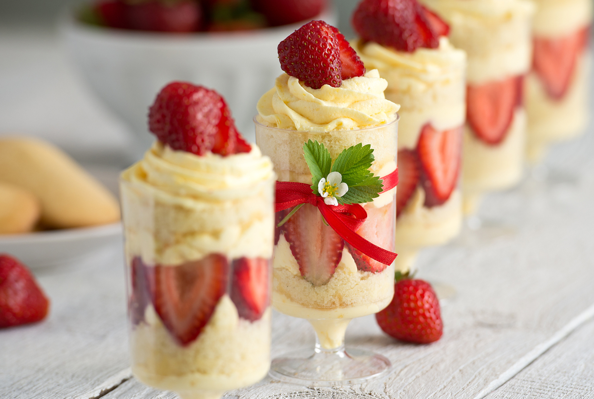 Cream Charlotte Cake