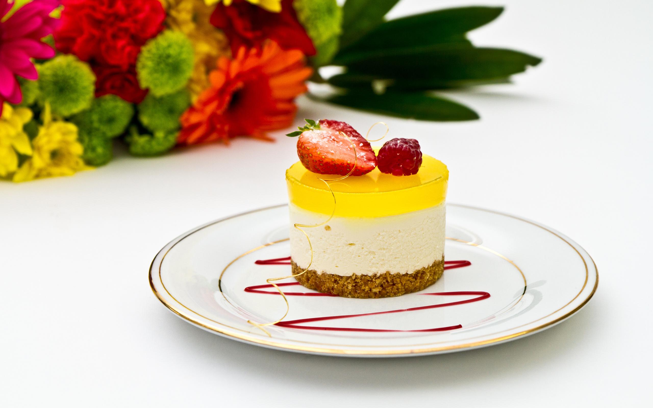 sweet strawberry dessert berries food wallpaper