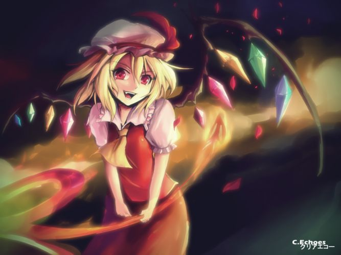 touhou clear echoes flandre scarlet touhou wallpaper