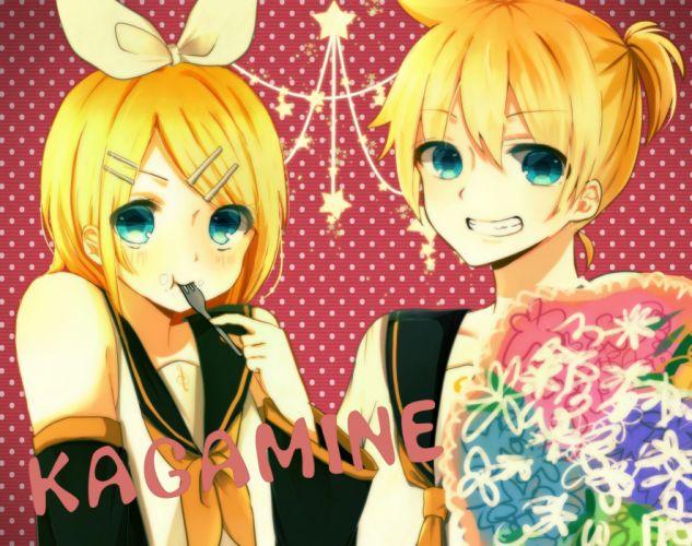 Vocaloid Kagamine Mirrors wallpaper