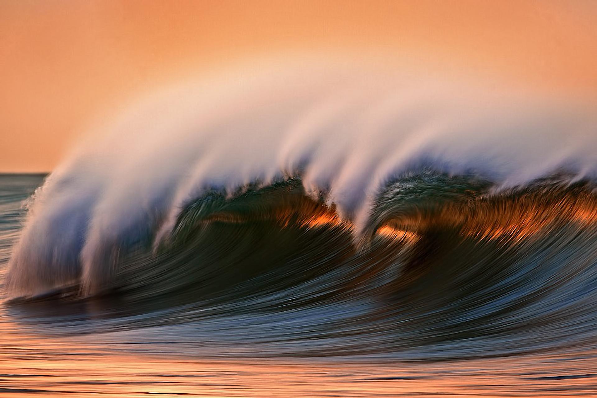 wave sea ocean spray f wallpaper background