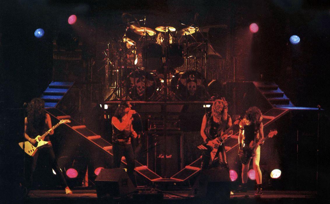 Angeles del Infierno heavy metal concert guitar          d wallpaper