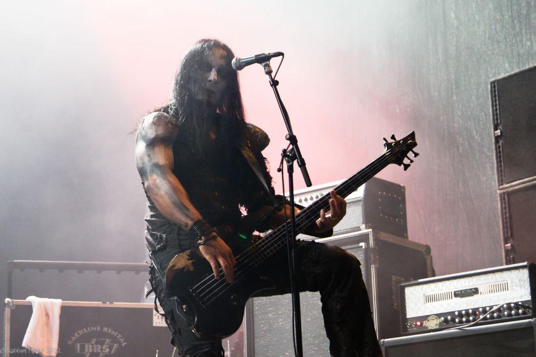 Behemoth black metal heavy concert guitar   g wallpaper