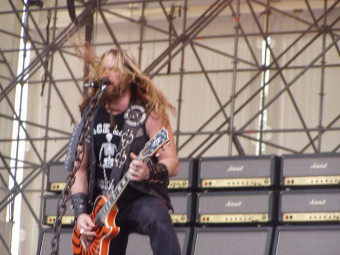 Black Label Society heavy metal concert guitar g_JPG wallpaper