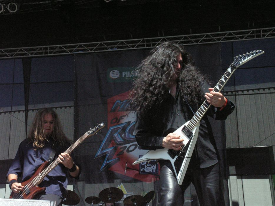 Black Majesty heavy metal concert guitar  sa wallpaper