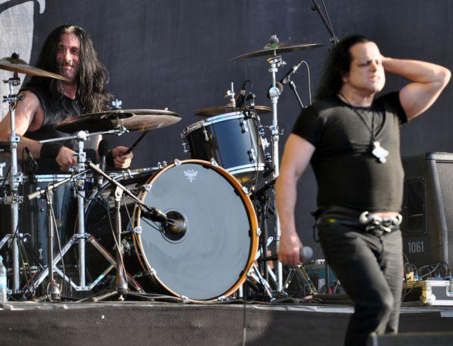 Danzig heavy metal concert drums d wallpaper