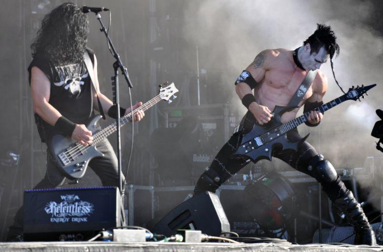 Danzig heavy metal concert guitar s wallpaper
