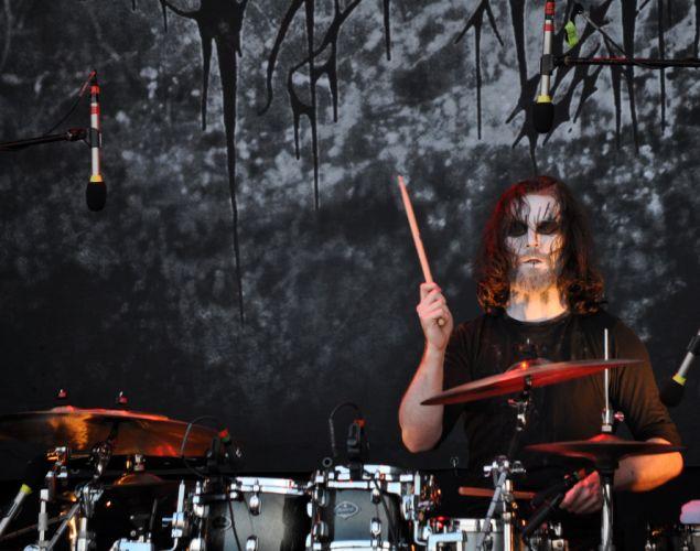 Dark Fortress black metal heavy concert drums h wallpaper