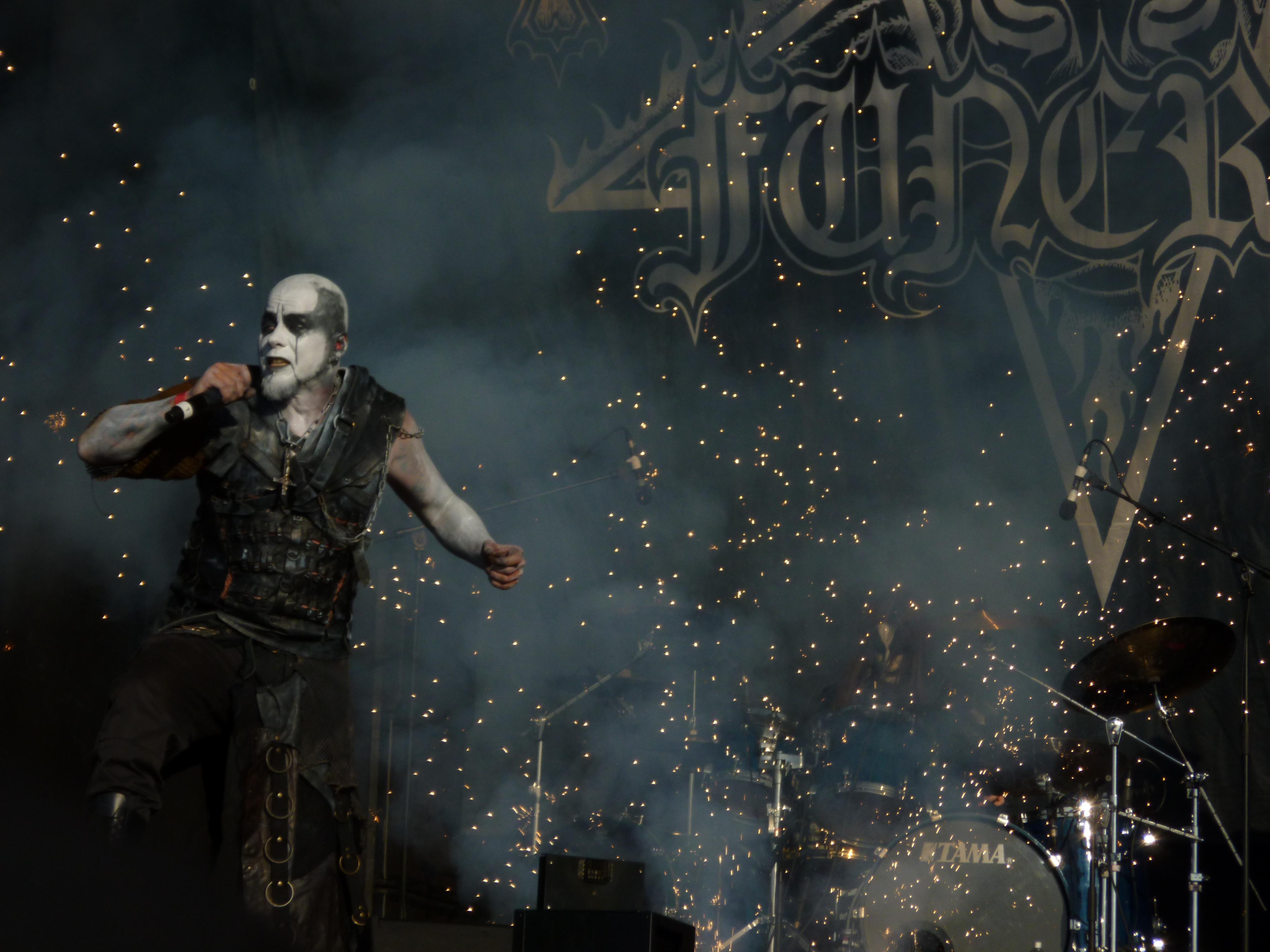 Dark Funeral Black Metal Heavy Concert H Wallpaper