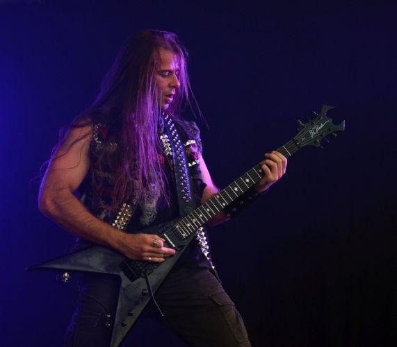 Destroyer 666 black metal heavy concert guitar m wallpaper
